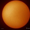 Sun H-Alpha 2/18/2018,                                Damien Cannane