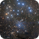 VDB4 and the Sailboat Cluster | A Reflecting Dark Nebula,                                Kevin Morefield