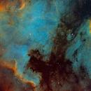 NGC7000, NGC6997, IC5070,                                zombi