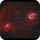 Flaming Star and Tadpoles (IC405 & IC 410) with RASA 8,                                Göran Nilsson