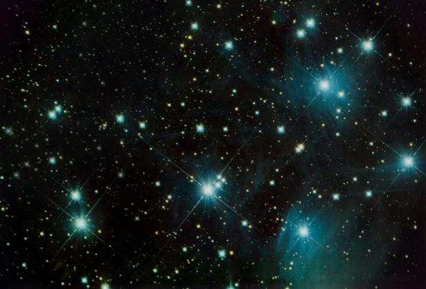 Matariki / Pleiades,                                Steffen Boelaars