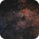 Cygnus heart region: bicolor Hα - OIII,                                Roberto Frassi