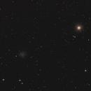 Kugelsternhaufen Messier(M) 53 und NGC 5053 im Haar der Berenike (Coma Berenikes),                                astrobrandy