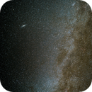 M31, Double Cluster and Milky Way,                                lhutton