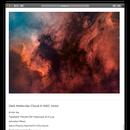 Dark Molecular Cloud in NGC 7000,                                Min Xie