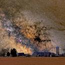 The Milky Way over a Beckwith Farm,                                Doug Griffith
