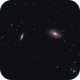 Bode's and Cigar Galaxy,                                HektoPascal