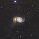 M51 galaxy in Canes Venatici,                                MassimoTuninetti