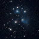 M45, The Pleiades,                                Oscar Meca