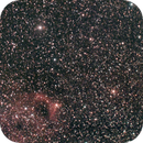 sh2-173 - a very weak and difficult nebula in Cassiopea - V2  crop and denoise,                                Stefano Ciapetti
