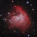 NGC 281 - Pacman Nebula,                                Barry E.