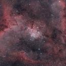 Heart Nebula in Bicolor,                                Wes Higgins