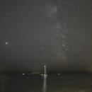 Milky Way from Castle Beach, Falmouth,                                John Hosen