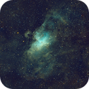 M16 Mosaic in OIII/HA/SII,                                Ian Parr