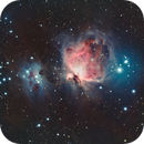 Orion Nebula in HaRGB,                                Tommy Lease