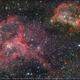 Heart and Soul nebula aka IC1805 and IC1848,                                Okke_Dillen