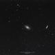 Bode's Galaxy & Cigar Galaxy, M82 & M81, Wide Field FOV, 06-01-2019,                                Martin (Marty) Wise
