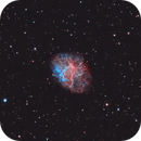 M1 - The Crab Nebula (HOO),                                blastrophoto