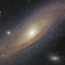 Andromedagalaxie - M31,                                Stefan Westphal
