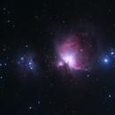 M42 Orion Nebula and Running Man,                                Alan Sinclair