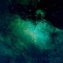 M16 - Eagle Nebula,                                Brian Peck