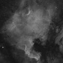 NGC 7000 / test depuis mon balcon,                                Valentin
