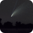 Comet NEOWISE over Ft. Griffin State Historic Site, TX,                                Andrew Klinger