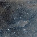 "The ""Dark Shark Nebula"", from a dark site!,                                Luigi Fontana"