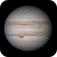 Jupiter with GRS on May 7, 2020,                                Chappel Astro