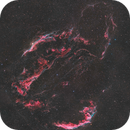 Cygnus Loop- 22hrs per panel- 6 panel mosaic @ 1.67 pixel scale,                                Matt Harbison
