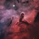 NGC 7822: Pillars of Wonder, A Young Star Forming Complex,                                Thomas Edward Christian, Jr.