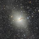 NGC 5128 - Centaurus A,                                Gabriel R. Santos (grsotnas)