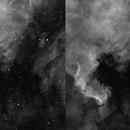 The NGC 7000 morfology,                                Rafael Schmall
