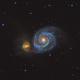 M51 (Whirlpool Galaxy) LRGB,                                John Smart