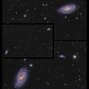 M109 and NGC3953 - distant neighbors,                                Göran Nilsson