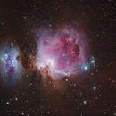 Great Orion Nebula and Running Man Nebula.,                                Keerati Komkongyou