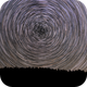 Startrails from a dark northern place ,                                Arno Rottal