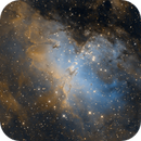M16 - The Eagle Nebula,                                pmumbower