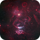 The Hookah Pipe Nebula - NGC 1871 & 1873 in Dorado,                                Andy 01