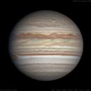 Jupiter | 2018-07-19 3:23 UTC | RGB,                                Chappel Astro