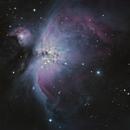 M42 first deep sky shot,                                PhotoMicQ