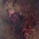 Schwan - Nordamerikanebel - H-II Gamma Cygni,                                Wolfgang Ransburg