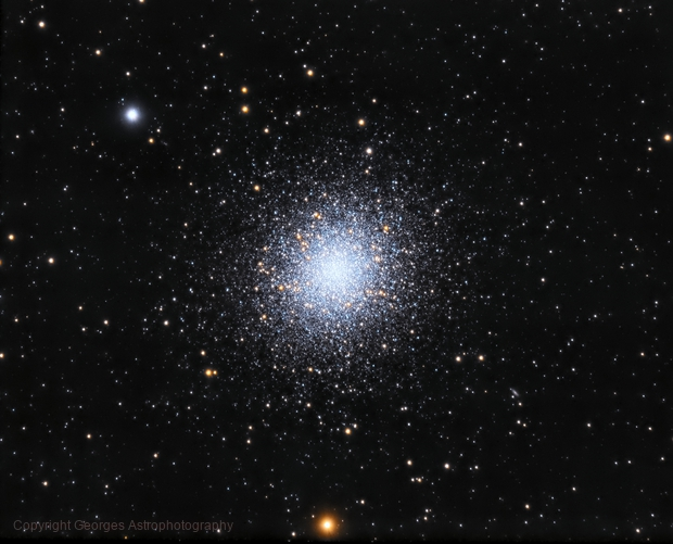Amas Globulaire Messier 13,                                Georges
