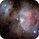 The Great Nebula in Orion and the Running Man Nebula,                                Ruben Barbosa