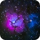 m 20 nebulosa trifida nel sagittario,                                Carlo Colombo