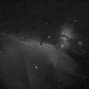 Horsehead and Flame Nebulae in NB,                                JDJ