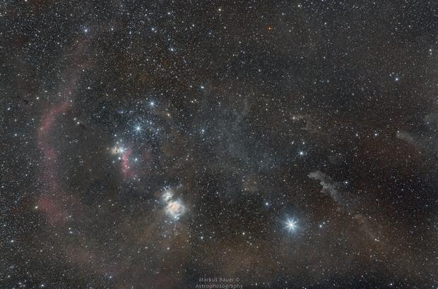 Orion Widefield - New EOS6D (unmodified) Testshot,                                Markus Bauer