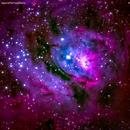 m8 la laguna  nebulosa nel sagittario,                                Carlo Colombo