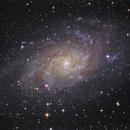 M33 LRGB,                                Thomas Richter