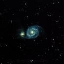 M51 Whirlpool Galaxy,                                PeterCPC